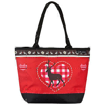 Tote bag, Deear and heart