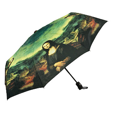 Folding umbrella Mona Lisa
