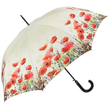 Automatic umbrella ,Poppies
