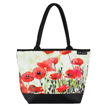 Tote bag, poppies