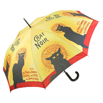 Automatic umbrella, Chat noir