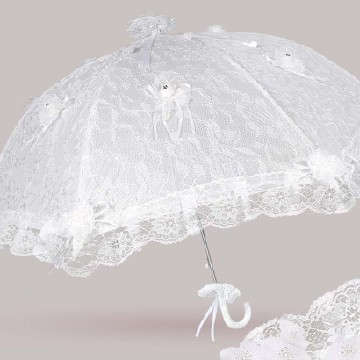 Lace umbrella, princess