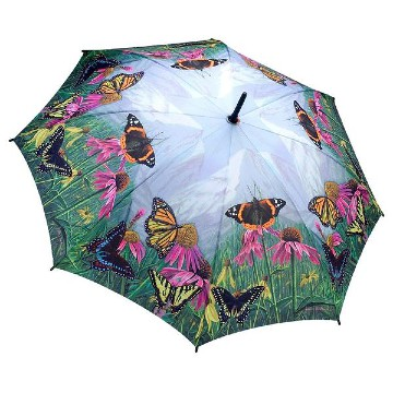 Butterfly Mountain Stick Umbrella