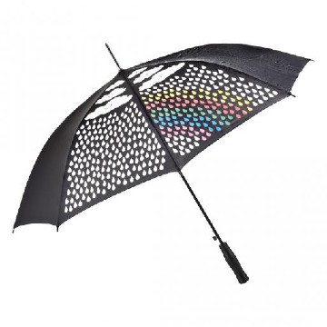 Color changing rainbow umbrelal