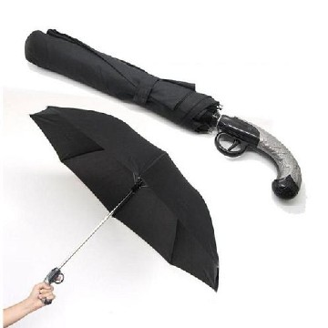 Pistol foldable umbrella