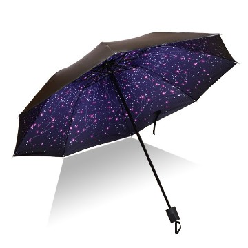 Standard telescopic umbrella, stars