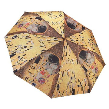 GUSTAV KLIMT THE KISS FOLDING STYLE UMBRELLA
