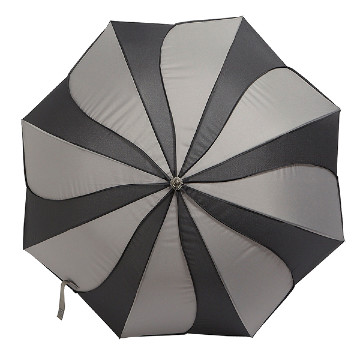 Swir umbrella, black-grey