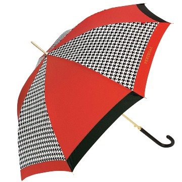 Extra umbrella, Pepita, red