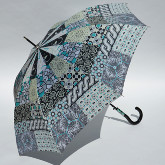 Patchwork umbrella Gaudi, grey