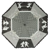 Black dancer umbrella
