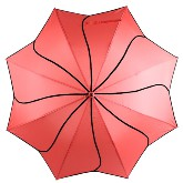 Coral swirl umbrella